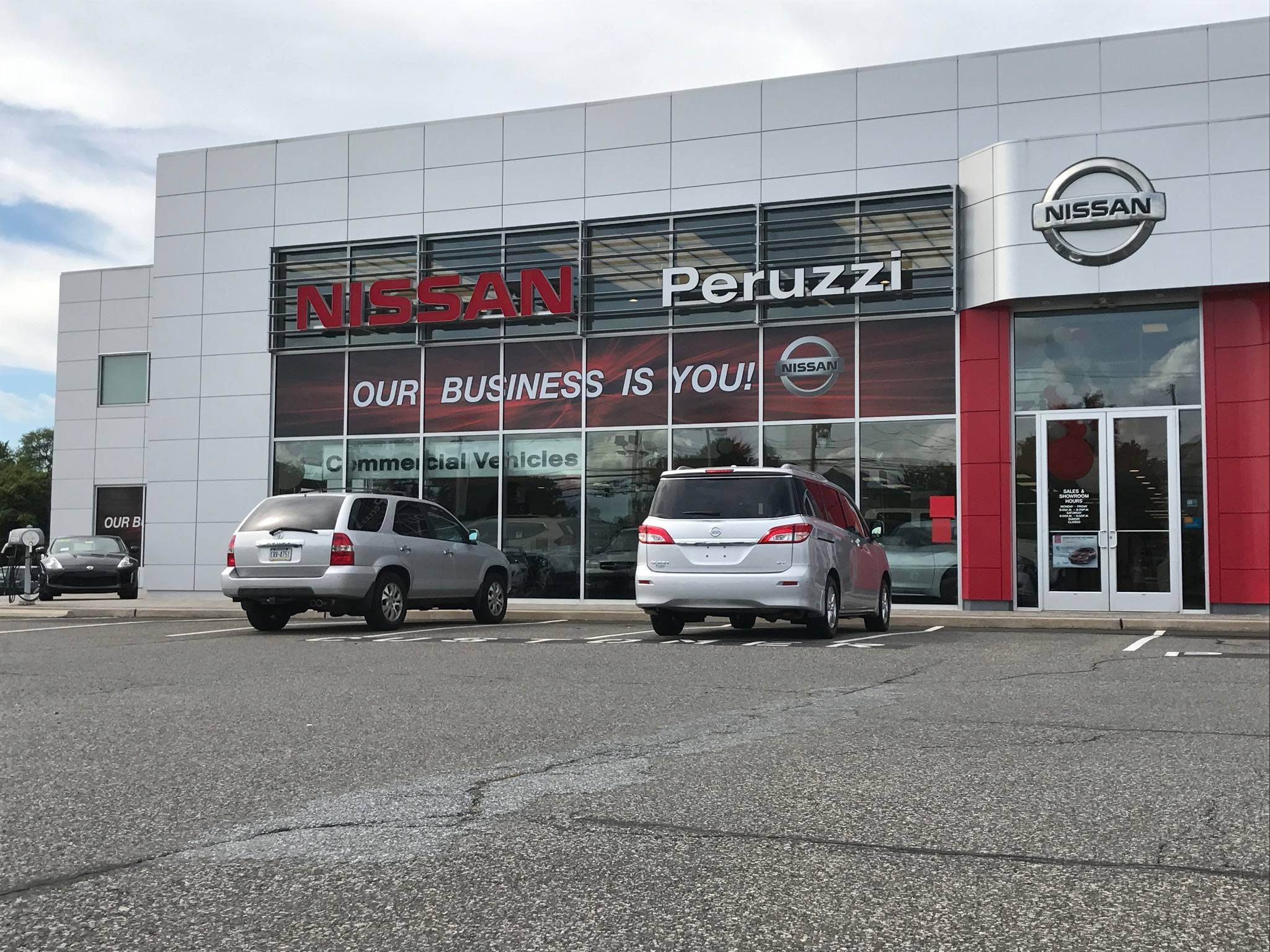 Peruzzi Car Dealership Custom Sign Job