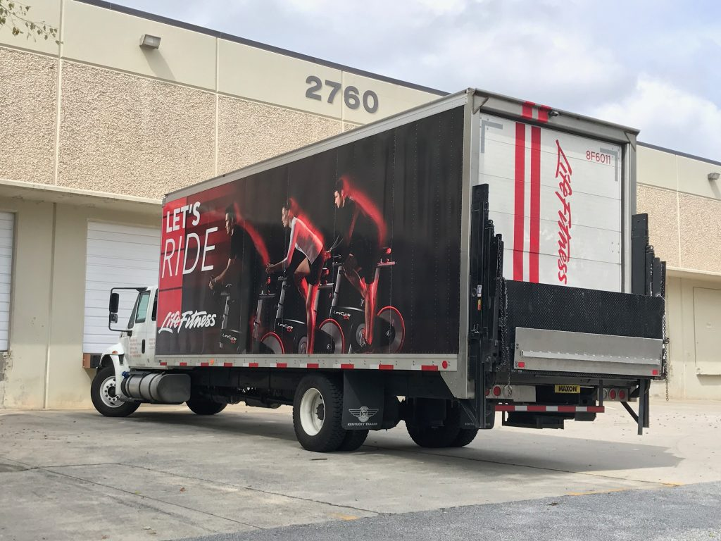 Why Box Trucks Make A Great Billboard! | Slicks Graphics Inc