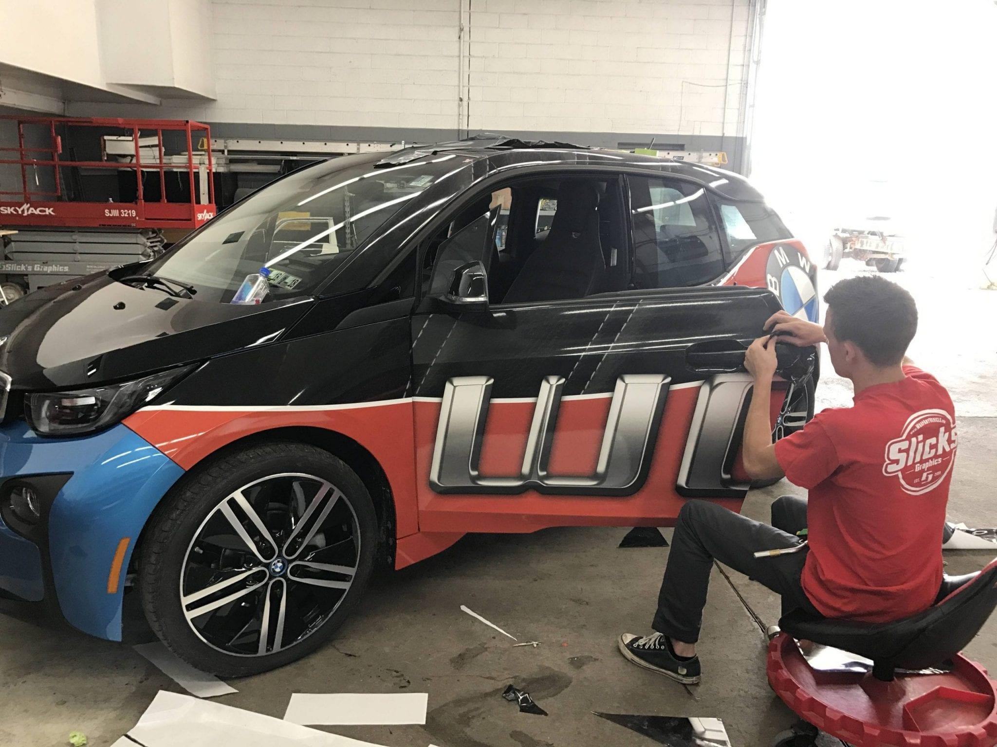 Car wrap custom install