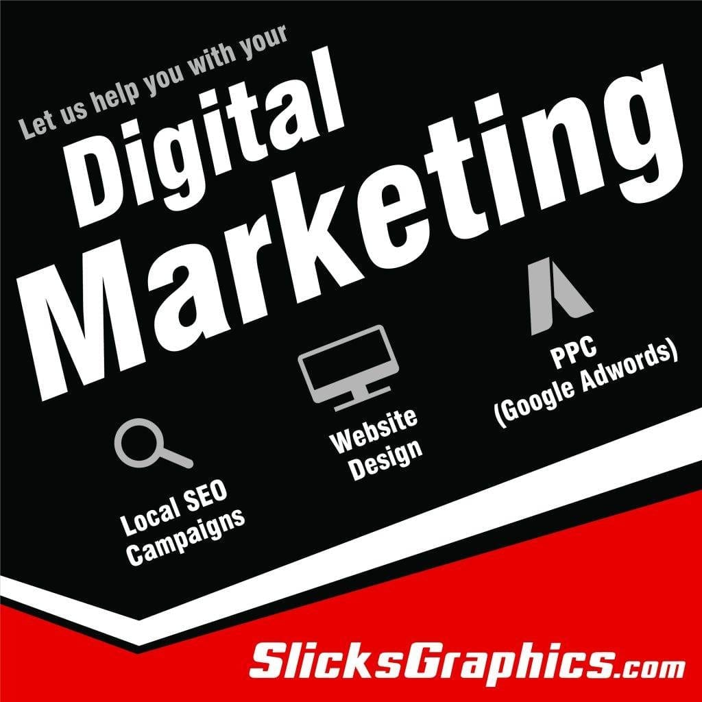 Trenton digital marketing, Digital marketing in Trenton New Jersey, Slicks Graphics Inc