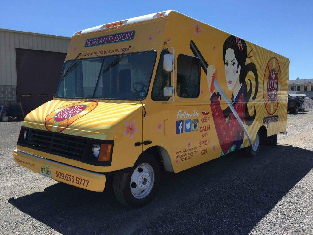 Food Truck Vehicle Graphics